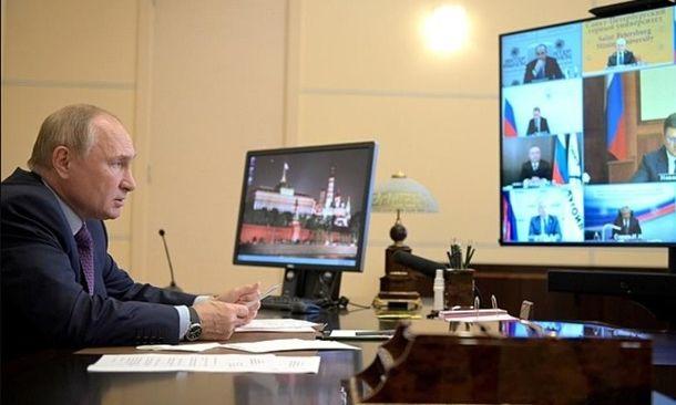 Владимир Путин обратился к Газпрому насчет Украины