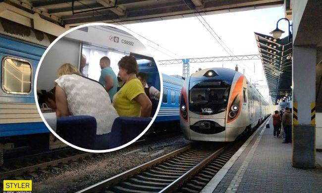 """Переживал весь вагон: пассажиры и стюард """"Интерсити"""" спасли ребенка"""